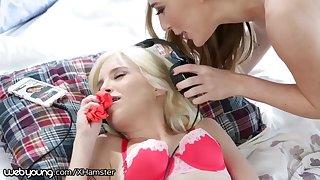 Piper Perri Caught Masturbating with Step-Sisters Panties