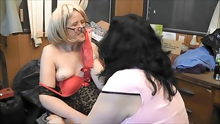 GUSH ON MY TITS AND LICK IT OFF BITCH!