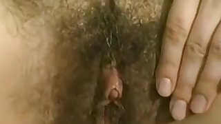 Hairy girls going at it