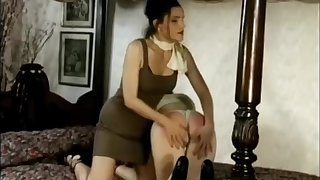 another sexy spanking wedgie