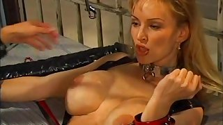 Beautiful porn lesbian sweethearts helter-skelter naughty pussy sex toy insertions