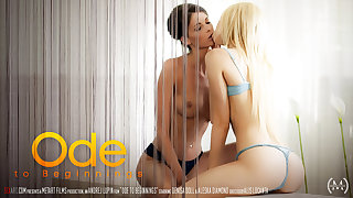 Ode To Beginnings - Aleska Diamond & Denisa Doll - SexArt