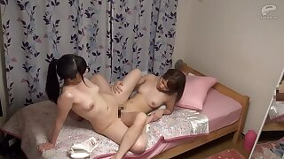 Horny Japanese model in Astonishing HD, Lesbian JAV movie
