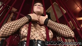 Naughty babe Mandy Bright enjoys having kinky lesbian sex. HD